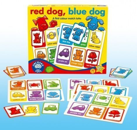 Orchard Toys Red Dog Blue Dog Matching Game Read
